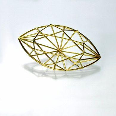 Jewel Brosche, 750/-Gold