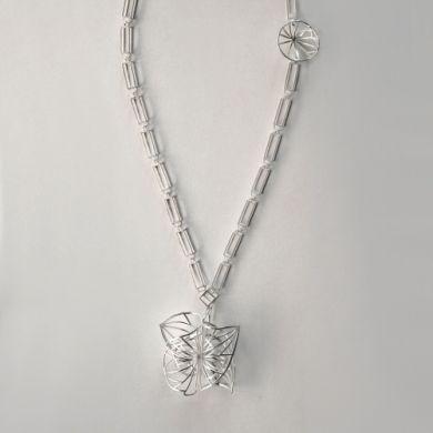 Line Kette Gegenteil, Silber