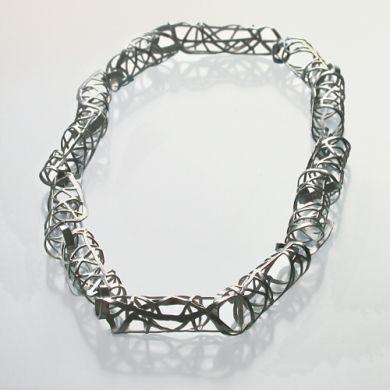 Line Kette 50cm, Silber