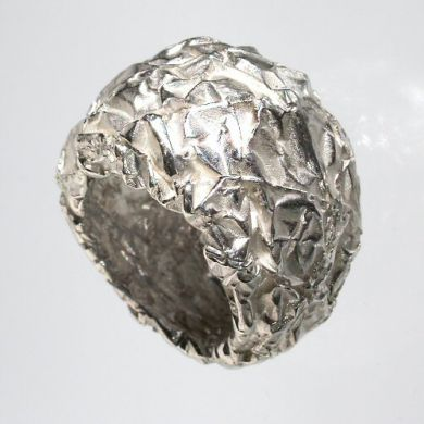 Crush Ring Ferero, Silber