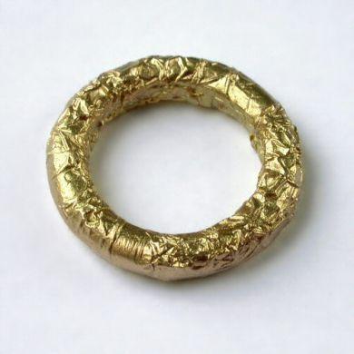 Crush Ring Kreis, 750/-Gold